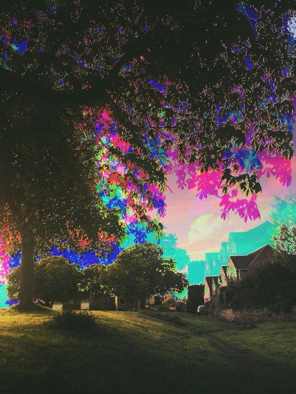 between spectrum