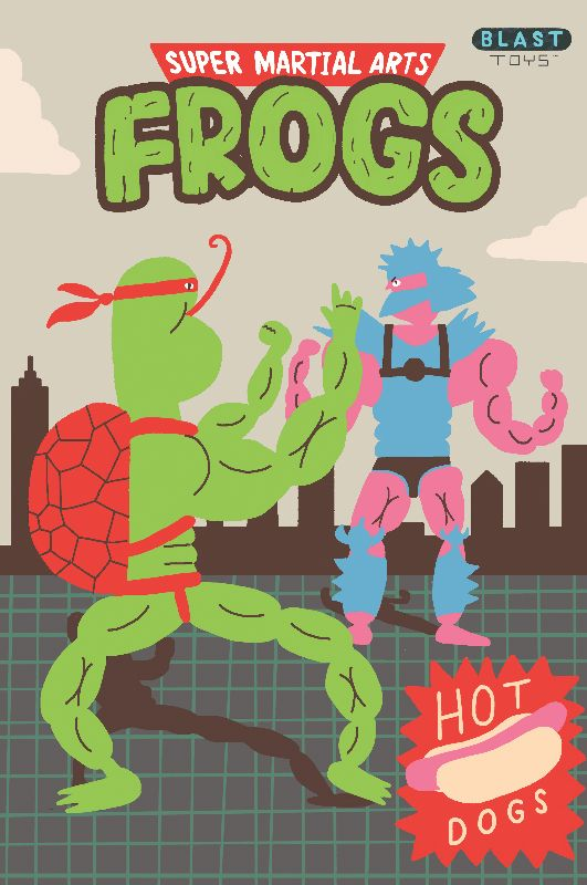 Super Martial Arts Frogs