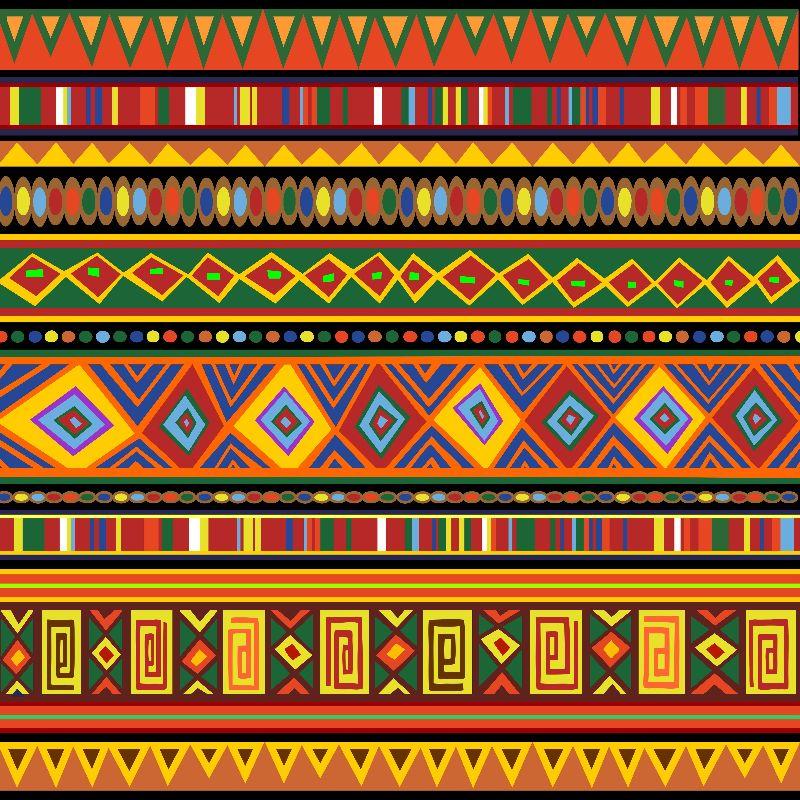 Africa Ethnic Art Pattern