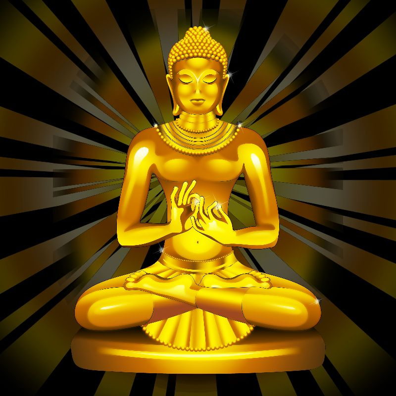 Golden Buddha Meditation