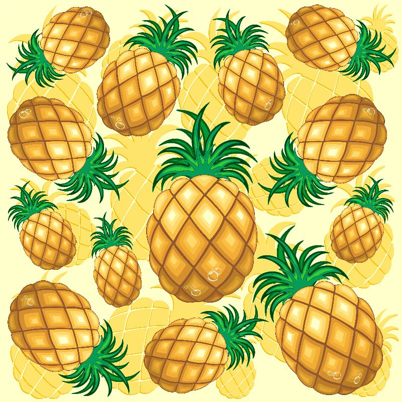Pineapple Juicy Pattern