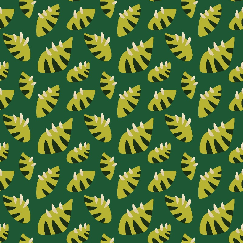 Clawed Green Leaves