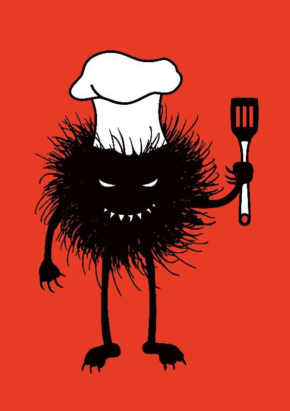 Evil Bug Loves Cooking