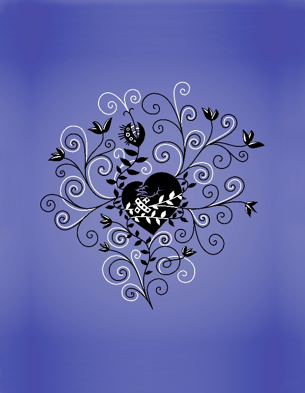 Gothic Mended Heart