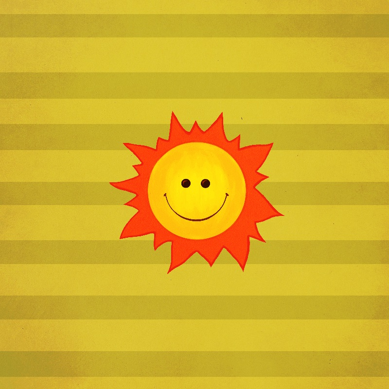 Happy Smiling Sun