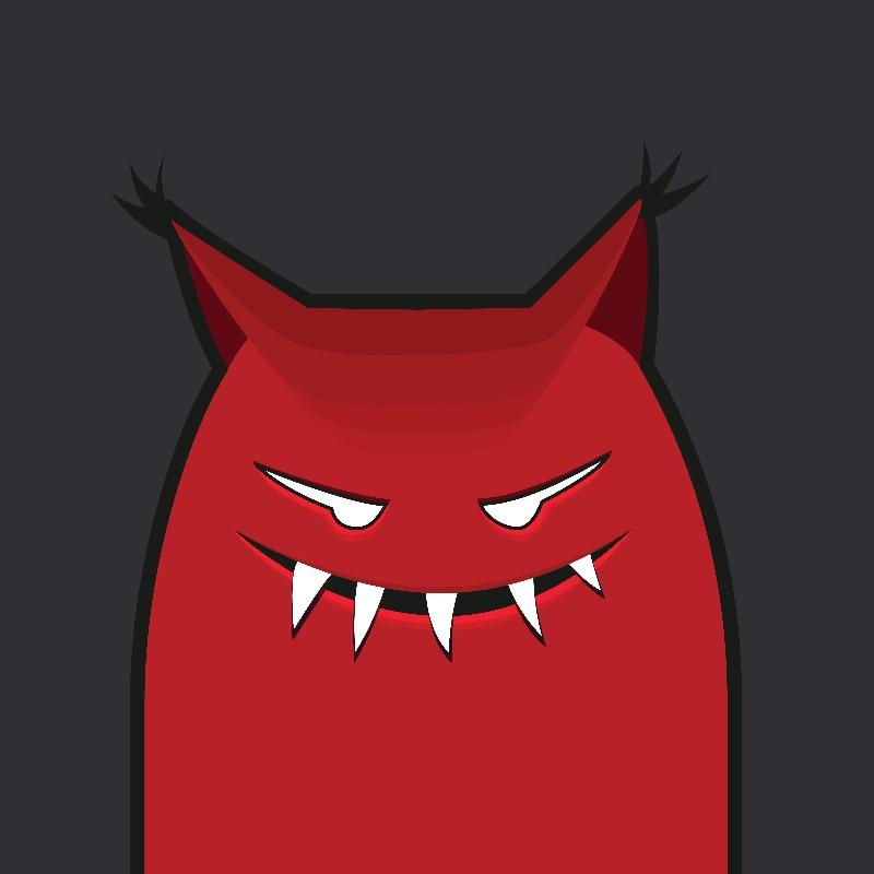 Pointy Ears Evil Monster
