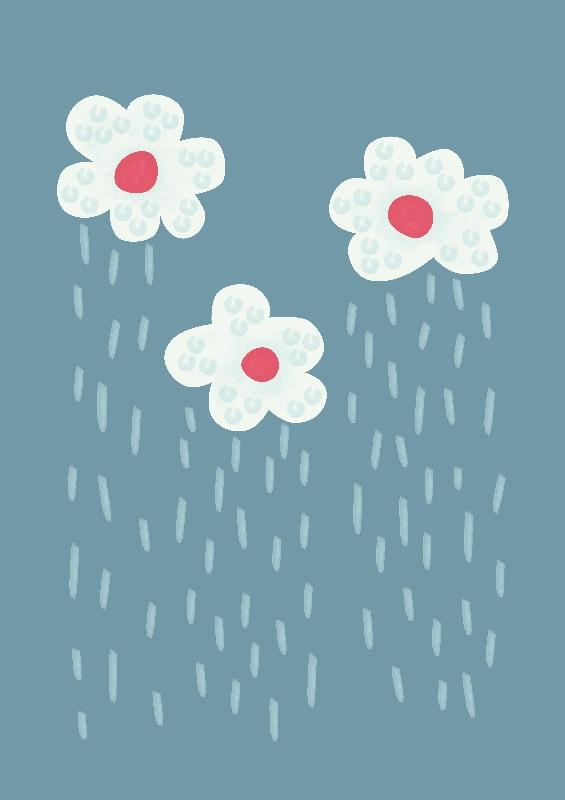 Raining Floral Clouds