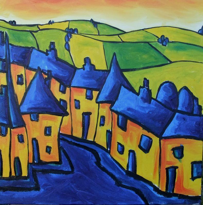 Village row