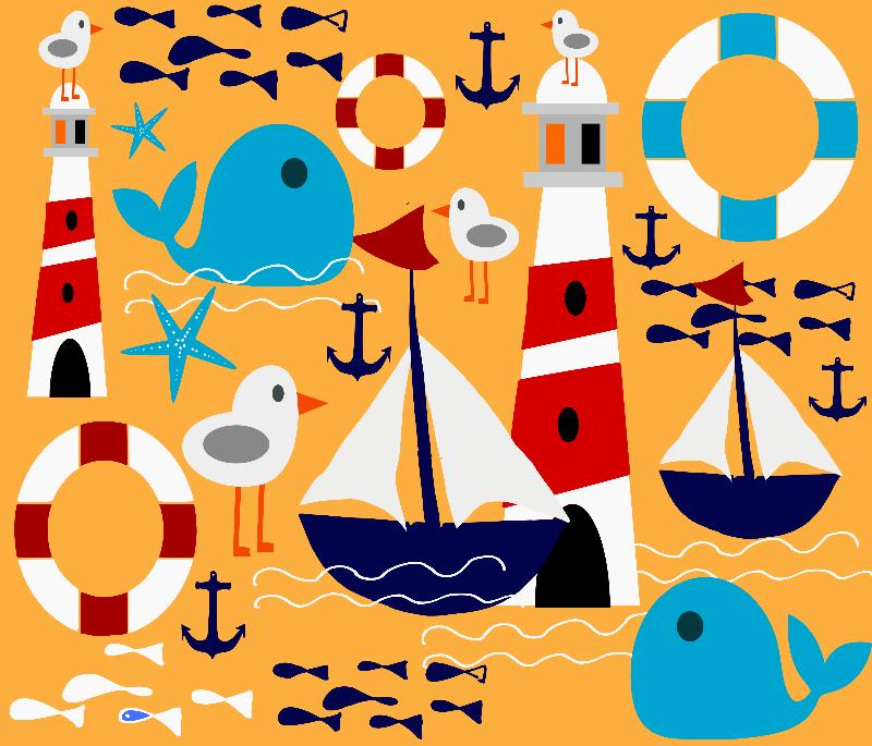Sailboat yellow