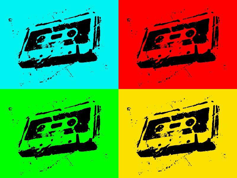 4 cassettes bywhacky
