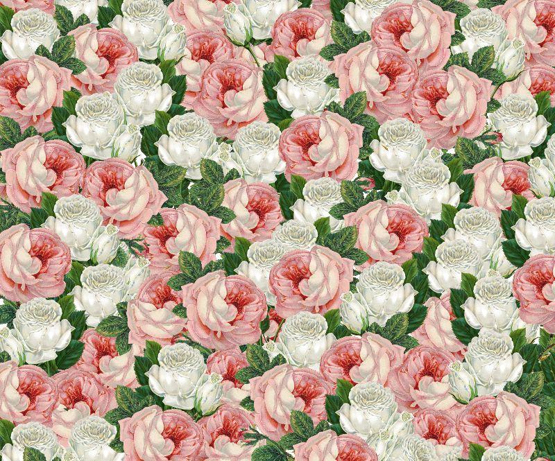 Juliet  Roses Pattern