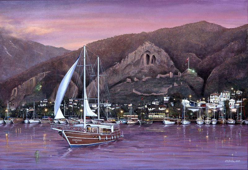 Sails at Sundown