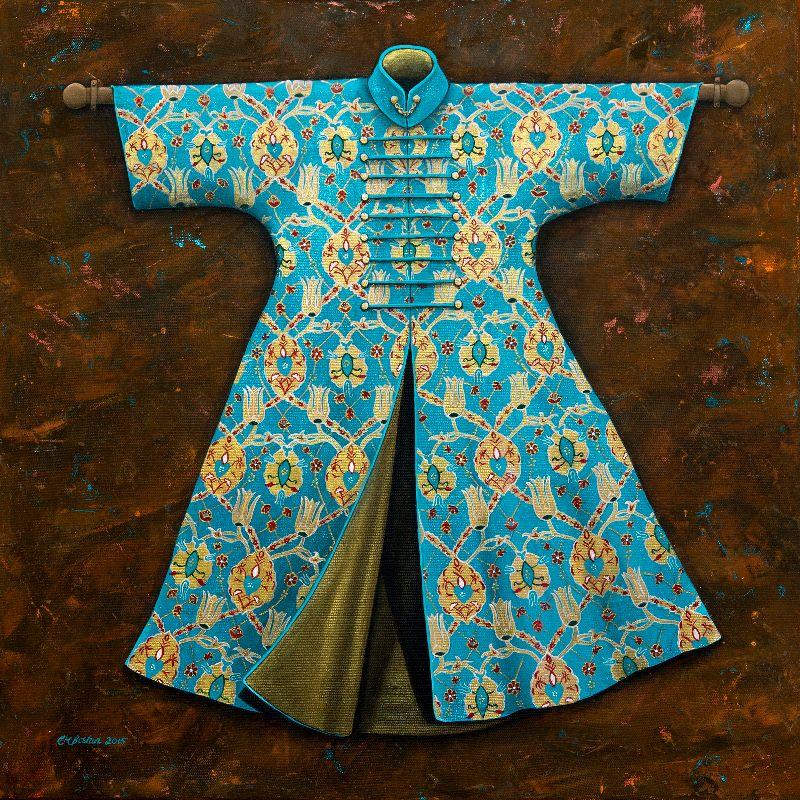 Turquoise Ottoman Kaftan