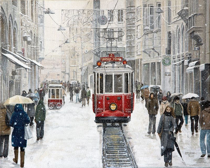 the Taksim Tram