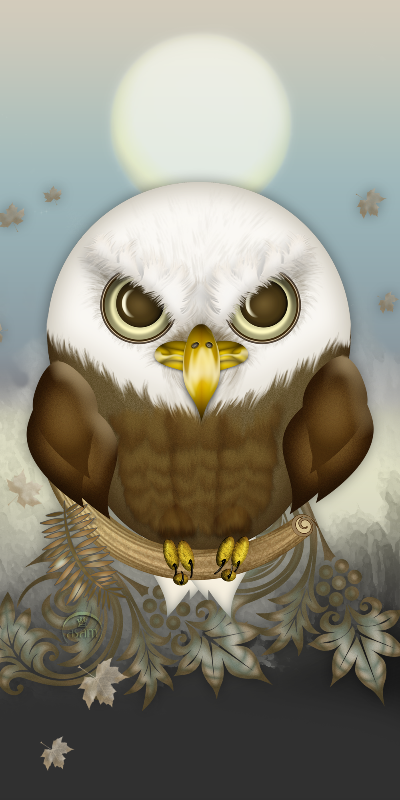 Cute Bald Eagle