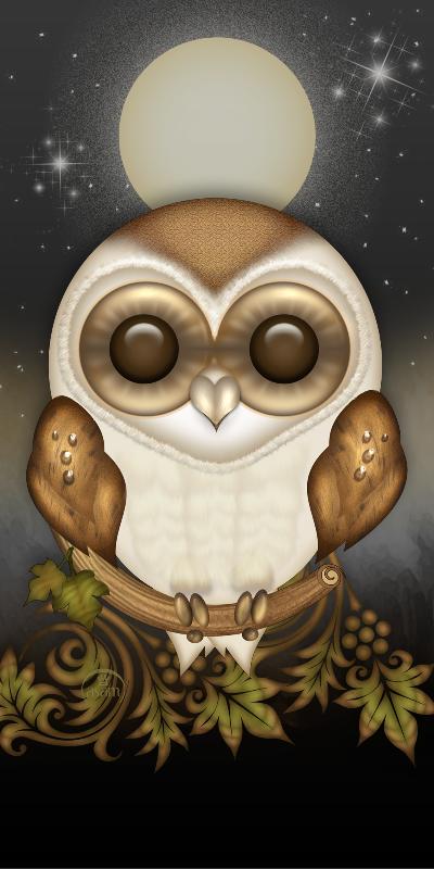 Funny Barn Owl