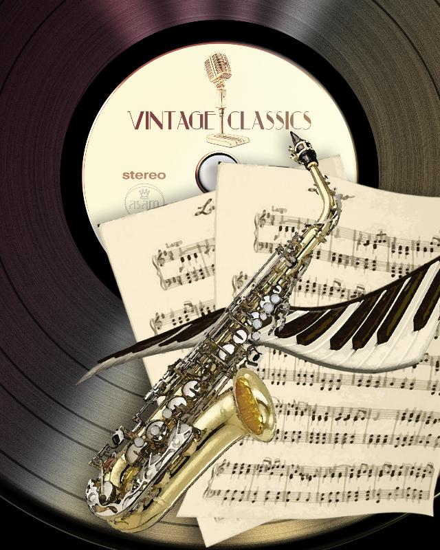 Retro Saxophone Music
