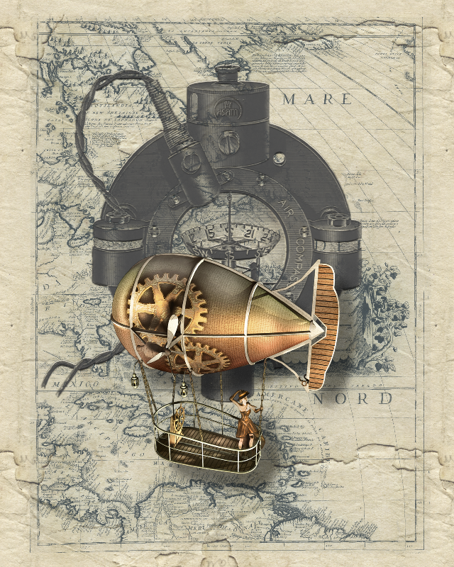 Steampunk Balloon Trip