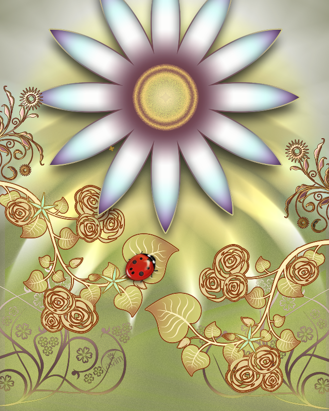 Summer Garden Ladybird