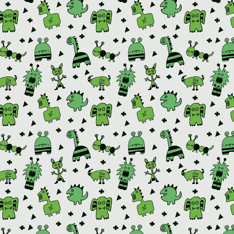 Little Green Monsters