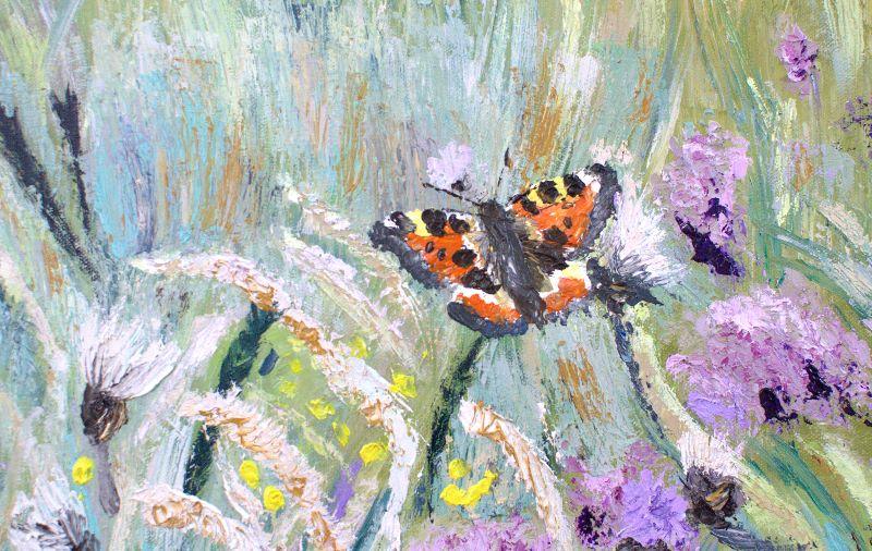 butterfly at llyn loch