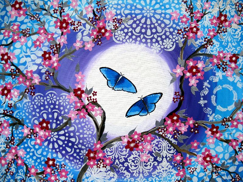 Butterflies and Blossoms
