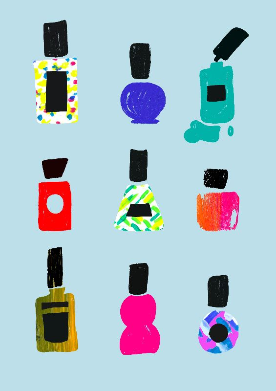Nail varnish bazaar