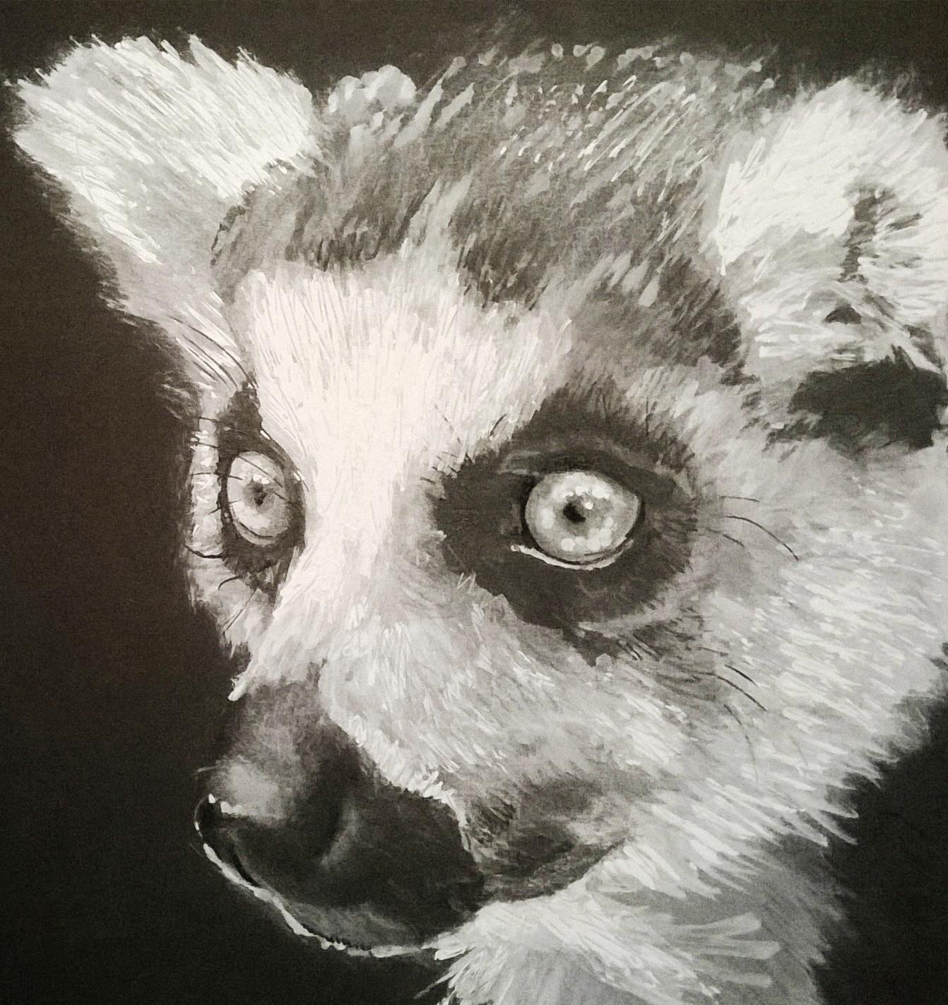 Monochrome Lemur