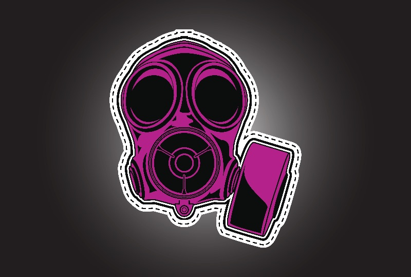 cut out and keep gas mask
