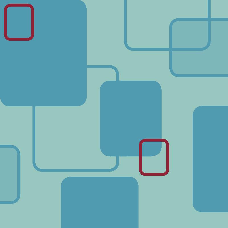midcentury pattern blue