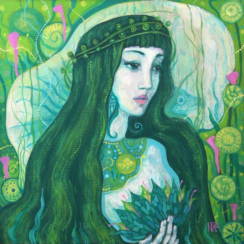 The Mermaid fantasy art