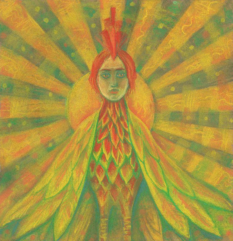 The Phoenix fire bird