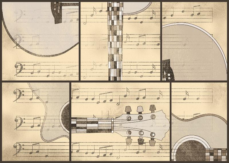 Vintage Music  Guitar