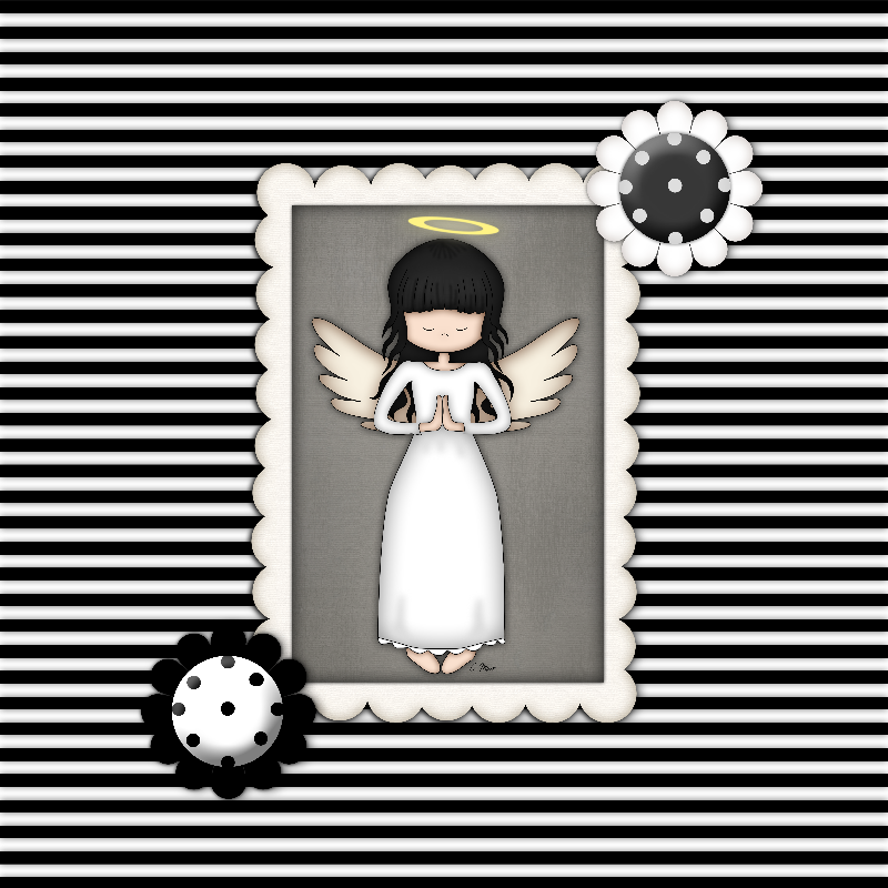 Whimsical Angel Girl