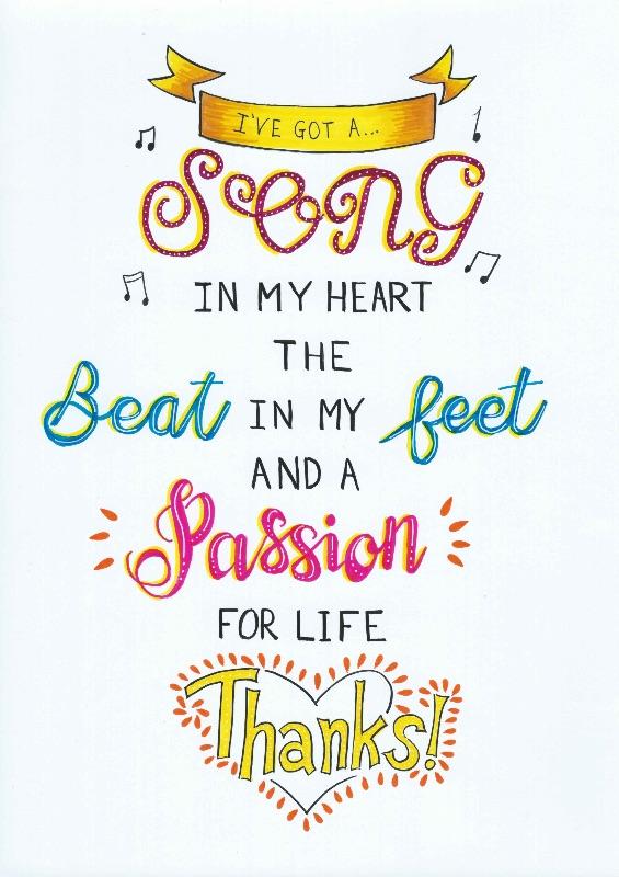 Singing Thanks