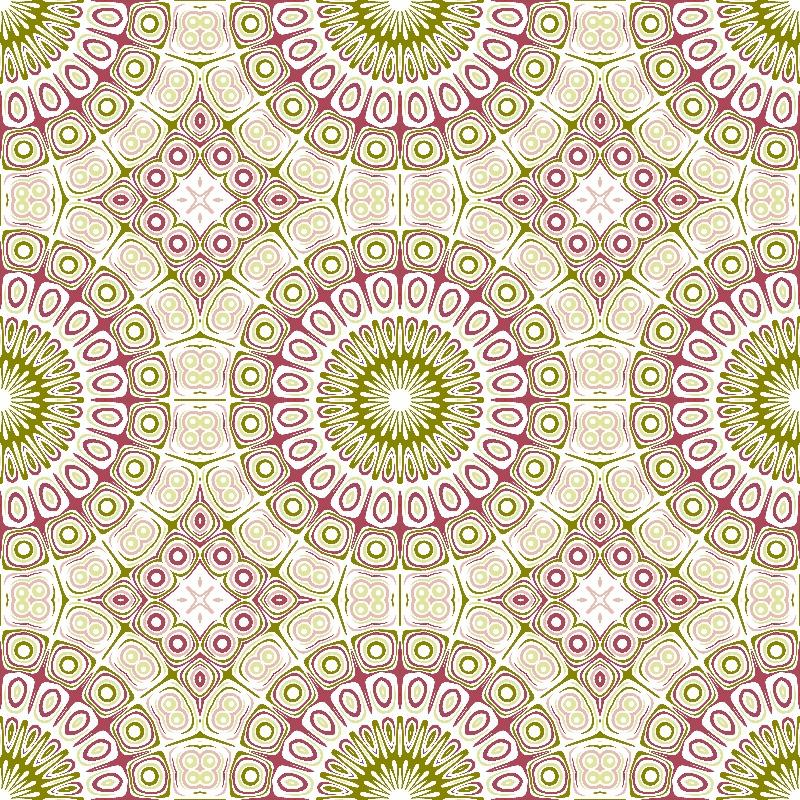 Kaleidoscope Olive  Rose