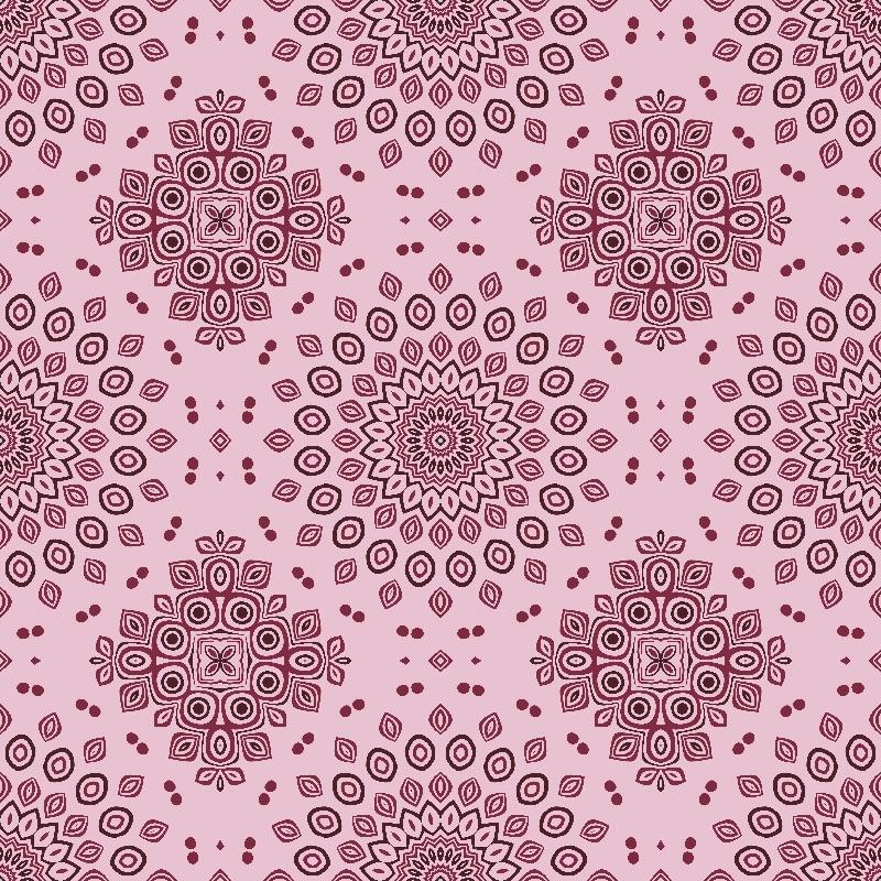 Kaleidoscope in Burgundy