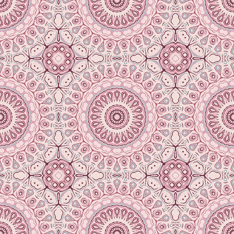 Kaleidoscope in Mauve