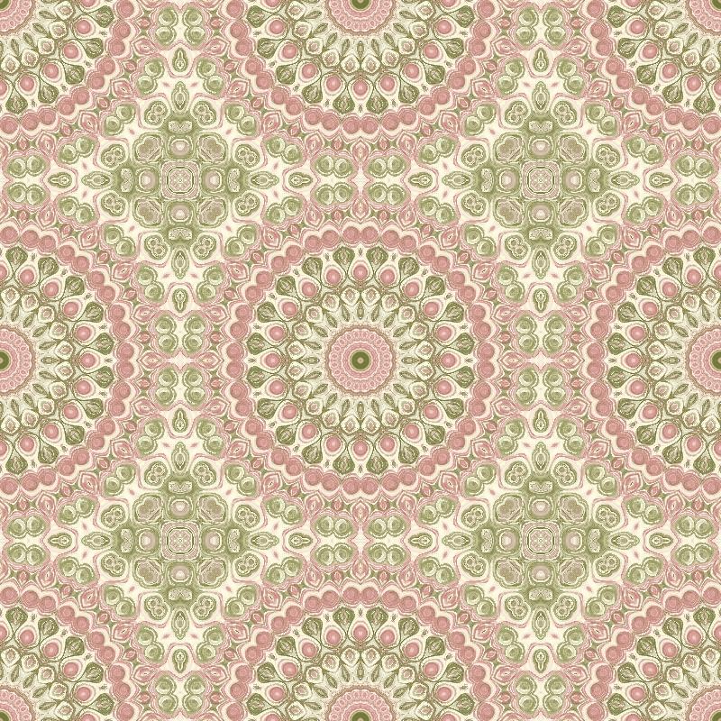 Modern Victorian Mandala