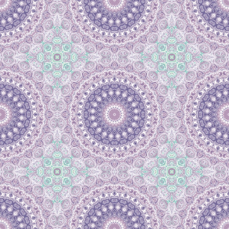 Purple  Lavender Mandala