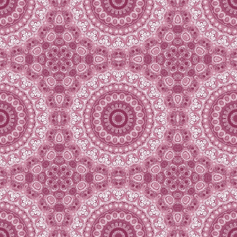 Rose and Mauve Mandala