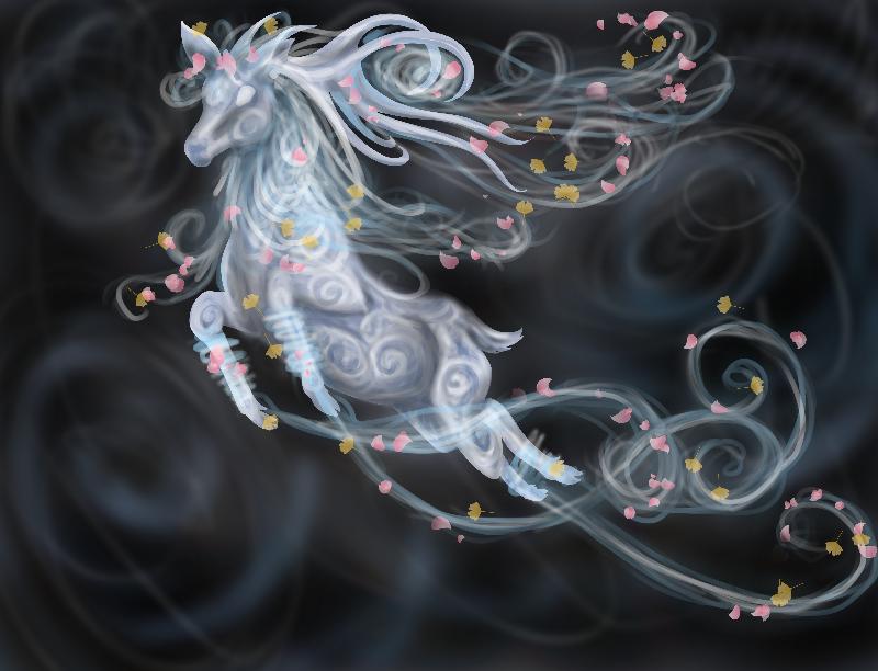 Air elemental stag