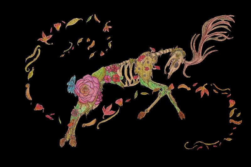 Dancing in flowers