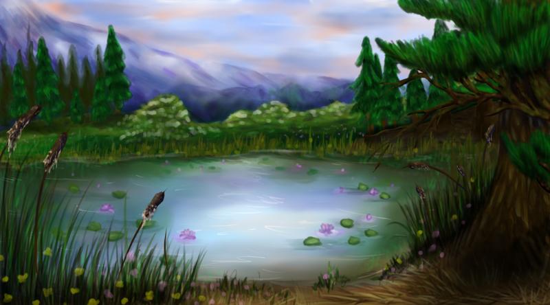 Lavender lakes