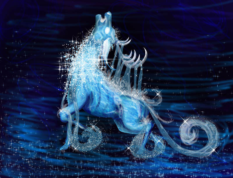 Water elemental stag