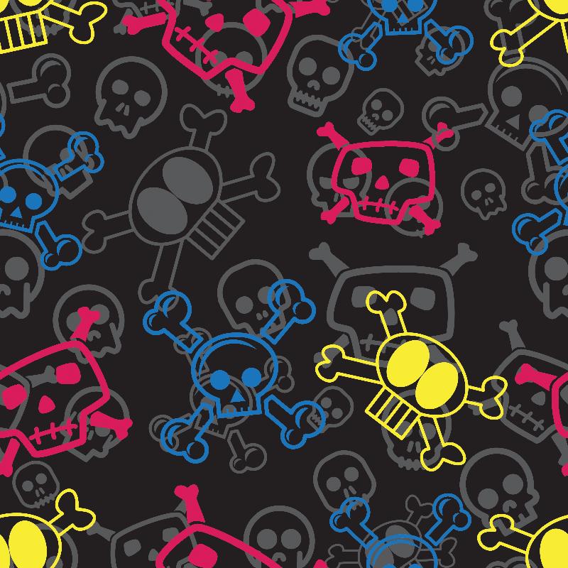 Cartoon Skull  Crossbone