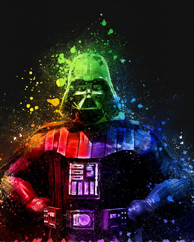 Darth Vader Abstract