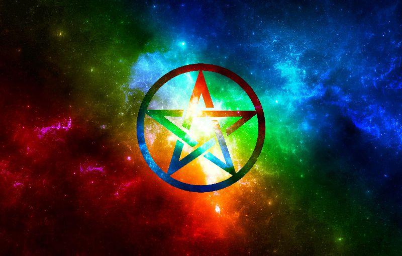 Galaxy Pentacle