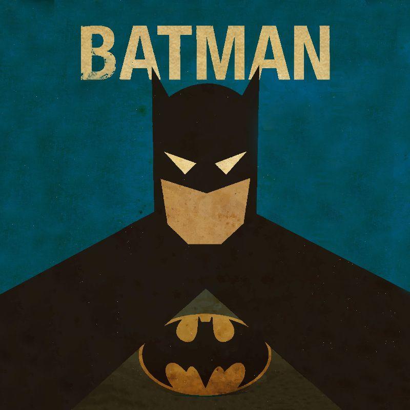 Minimal Batman Poster