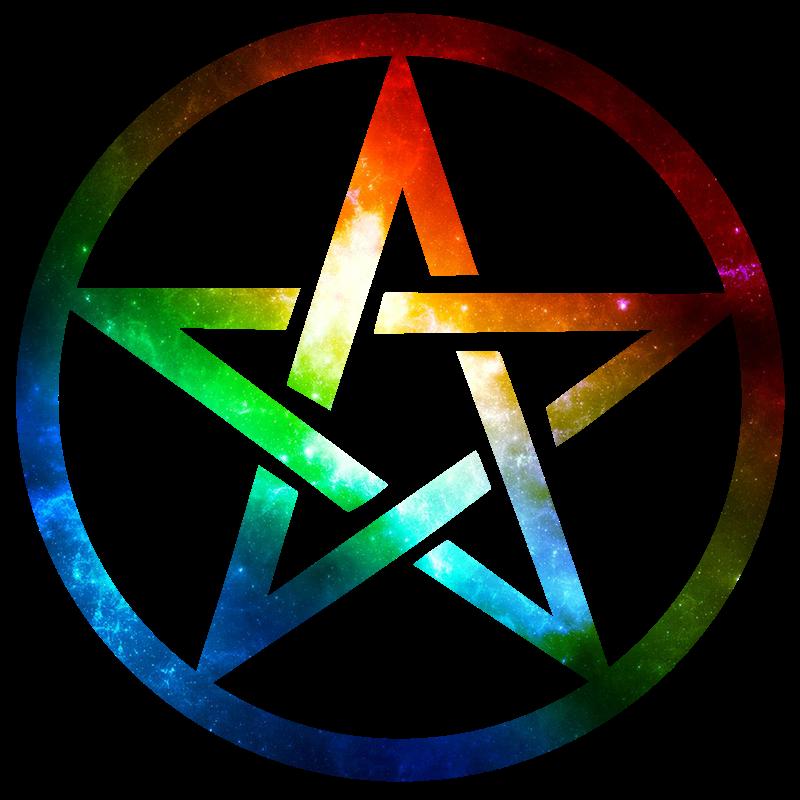 Rainbow Pentacle